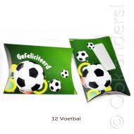 12 Kado doosje Voetbal