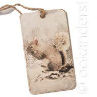 label winter eekhoorn